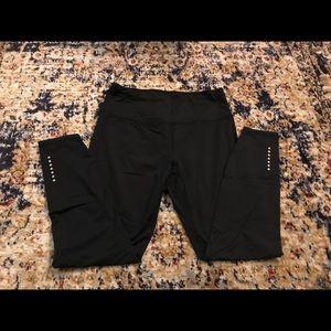 Black Basic Atheletic Leggings